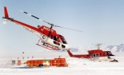 Helicopter support, Beardmore Base Camp 2003-2004 (CTAM) - Central Transantarctic Mountains, Antarctica