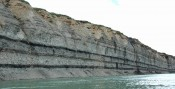 The Cretaceous coastal plain of Arctic Alaska, Colville River, North Slope - Alaska