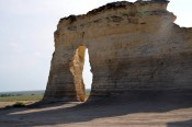 Natural Arch at Monument Rocks