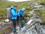 With John Hooker on the Moine Thrust in NW Scotland, June 2011.