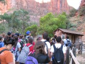 A word on flash floods in Zion nat'l park (E. Garza)
